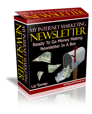 My Internet Marketing Newsletter - Ready To Go Money Making Newsletter In A Box.